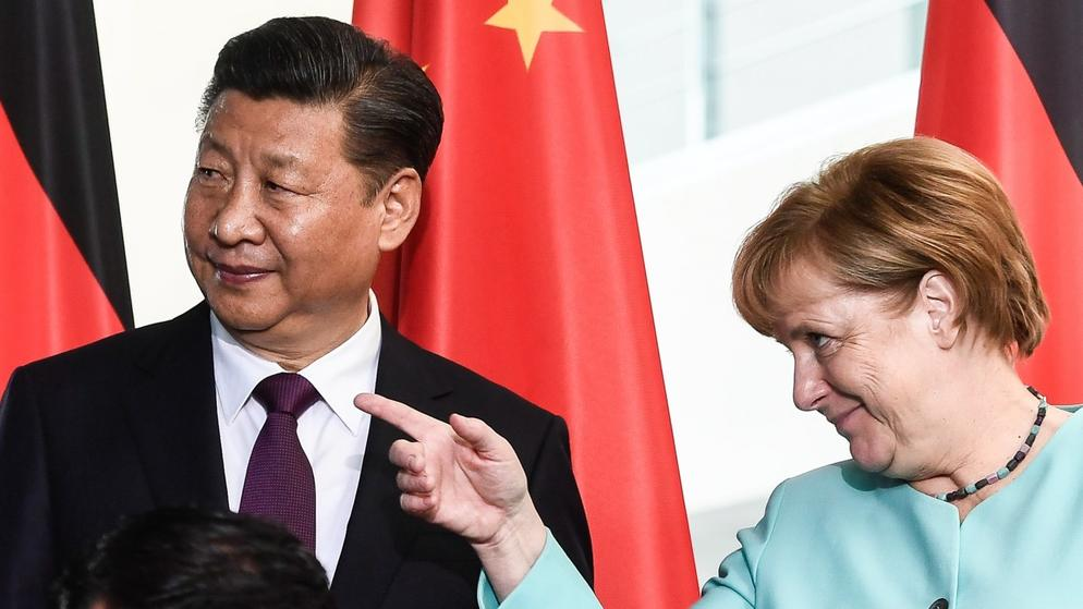 Chinese President Xi Jinping visits Berlin