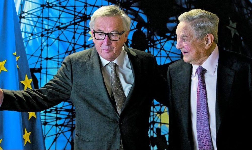 La ragnatela di Soros per il controllo delle elezioni in europa.