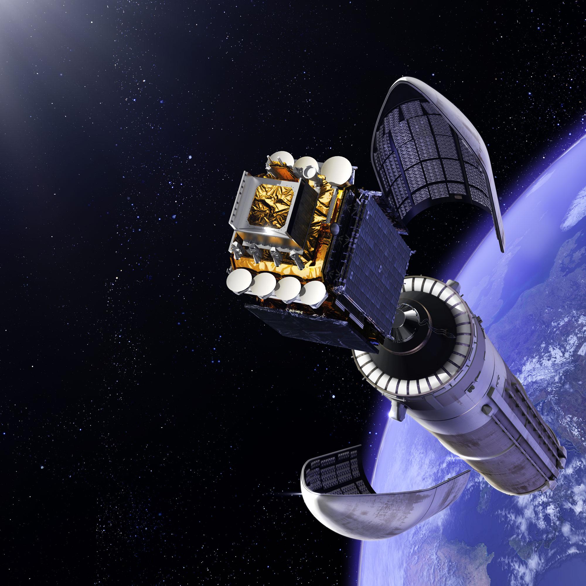La nuova strategia Francese nello spazio.